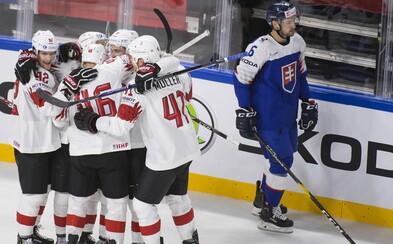 Slovenskí hokejisti nestrelili ani jeden gól a prehrali aj so Švajčiarskom