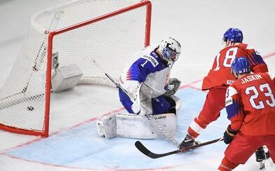 Slovenskí hokejisti vstúpili do šampionátu prehrou proti Českej republike po predĺžení