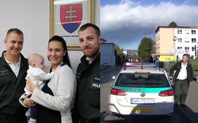 Slovenskí policajti bez váhania pomohli rodičom s bábätkom, ktorí ho potrebovali dostať do nemocnice
