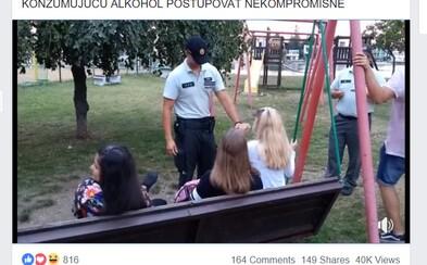 Slovenskí policajti budú voči opitej mládeži nekompromisní. Zverejnili video, v ktorom hlásajú pravidelné kontroly