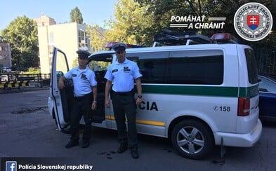 Slovenskí policajti na diaľnici D1 opäť odprevadili rodiacu mamičku až do nemocnice