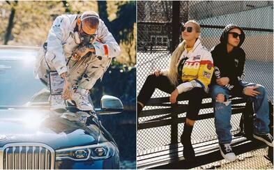 Slovenskí raperi sa aj počas karantény ukazujú v outfitoch v hodnote osobných áut. Aké luxusné kúsky nosia Pil C či Separ?
