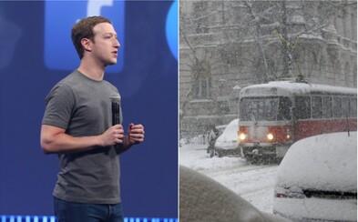 Slovensko čaká prvý sneh, Facebook a Apple majú beef