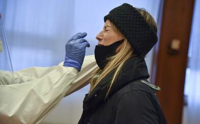 Slovensko dosiahlo denný rekord počtu nakazených koronavírusom. Z antigénových a PCR testov pribudlo dokopy 5 641 prípadov
