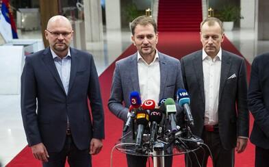 Slovensko je veľmi blízko novej vláde. OĽaNO, Sme rodina, SaS a Za ľudí sa dohodli
