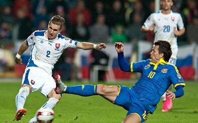 Slovensko je zase raz bližšie k postupu na ME 2016 vo Francúzsku. So silnou Ukrajinou sme ale iba remizovali