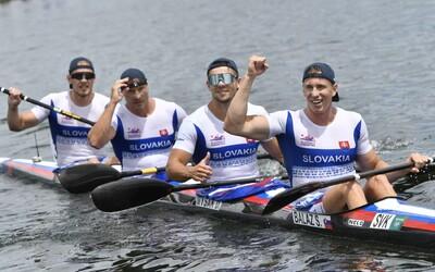 Slovensko má štvrtú medailu na olympiáde! Fantastický štvorkajak získal v Tokiu bronz