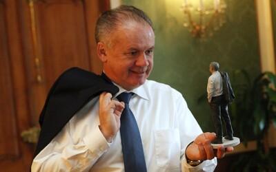 Slovensko má už aj 3D prezidenta! Naša hlava štátu sa nechala naskenovať, aby vznikla jej verná kópia