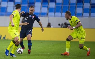 Česko porazilo Slovensko 1:3 v prvním kole Ligy národů