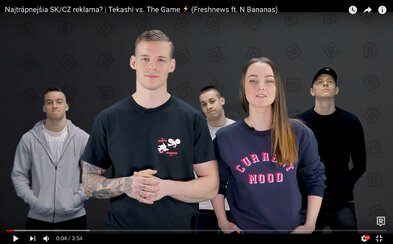 Slovensko potrápili No Name s Kristínou v trápnej reklame aj magazín, ktorý zorganizoval nemiestnu súťaž (Freshnews)