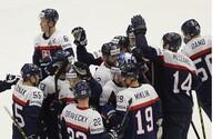 Slovensko sa lúči so šampionátom čestnou prehrou po predĺžení s favorizovanými Spojenými štátmi
