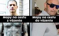 Slovensko sa zabáva na Norbertovi Bödörovi, ktorý sedí vo väzbe. Mal vraj mapu ako Michael Scofield
