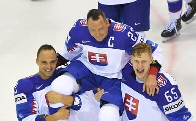 Slovensko si pripomenulo Demitru, Nagy sa víťazným gólom rozlúčil s kariérou. Toto sú najemotívnejšie momenty domácich MS v hokeji