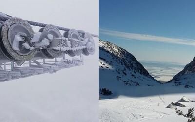 Slovensko už na horách stihol zasypať prvý sneh. Teploty vo výškach padajú hlboko pod bod mrazu
