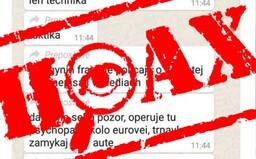 Slovenskom sa šíri závažný hoax o vraždách v Bratislave. Polícia upozorňuje, že za šírenie poplašnej správy môžeš dostať 2 roky