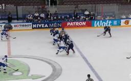 Slovensku sa v zápase s USA zatiaľ nedarí. Po druhej tretine prehrávame 4 : 1