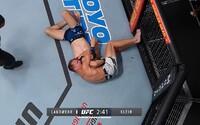 Slovenský bojovník Ľudovít Klein v UFC podruhé prohrál. Soupeř jej uškrtil ve třetím kole
