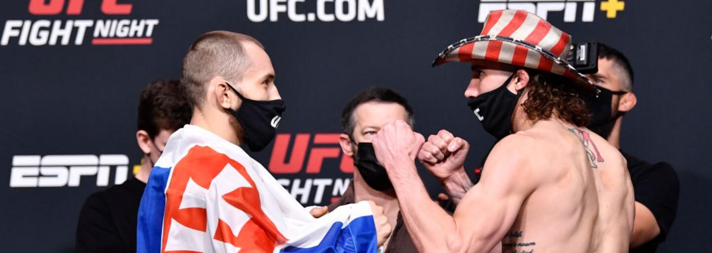 Slovenský bojovník Ľudovít Klein vo svojom druhom zápase v UFC prehral