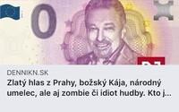 Slovenský deník napsal o Gottovi, že je zombie a idiot hudby. Za nevhodný titulek se omluvil