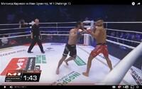 Slovenský MMA bojovník po štyroch rokoch okúsil, aké je to prehrať. Stopku mu vystavil súper tvrdým knokautom už v úvode súboja