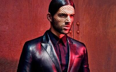 Slovenský model Frederik Múka na záberoch od Branislava Šimončíka pre Top Fashion