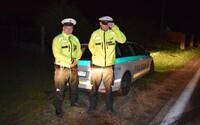 Slovenský policajt hrdinsky preskočil na diaľnici do idúceho auta, aby zabránil tragickej nehode