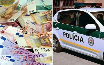 Slovenský policajt ilegálne zarobil 110-tisíc eur. Zopár percent z vyzbieraných pokút si odkladal na súkromné potreby