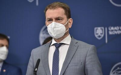 Slovenský premiér Matovič odstupuje