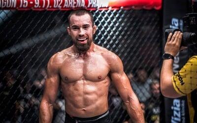 Slovenský UFC bojovník Ľudovít Klein podepsal smlouvu na další zápas. Bojovat má už v květnu