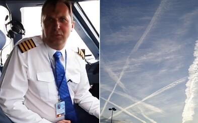 Slovenský vládny pilot vysvetľuje, čo sú chemtrails. Nikto nás nepostrekuje, nebolo by to ani efektívne