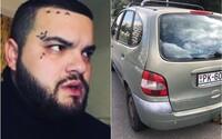 Slovenský youtuber Tuči ukradol služobné auto a tri litre alkoholu. Kedysi ho preslávili slovenskí raperi