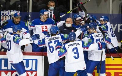 Slovenským hokejistům se na MS podařilo zdolat i Rusy