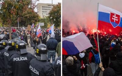 Slovenští ultras připravují další protest proti vládním opatřením. Pokud jste dosud nezkrachovali, zítra můžete být na řadě, tvrdí