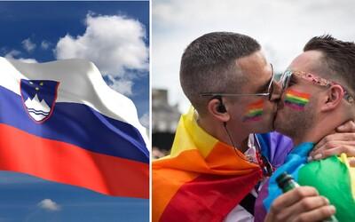 Slovinsko schválilo manželství homosexuálů