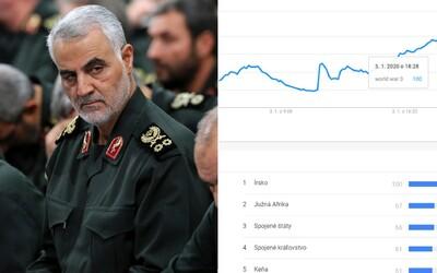 Slovné spojenie Tretia Svetová vojna trenduje. Ľudia po zabití Sulejmáního hromadne vyhľadávajú World War 3