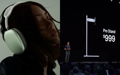Sluchátka za 16 500 korun, stojan na monitor za 29 000 korun. Proč má Apple specifickou cenotvorbu?