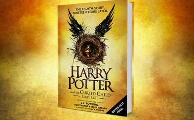 Osmá kniha v sáze Harryho Pottera přijde už toto léto! Připravovanou divadelní hru budeš moci prožít i v knižním vydání