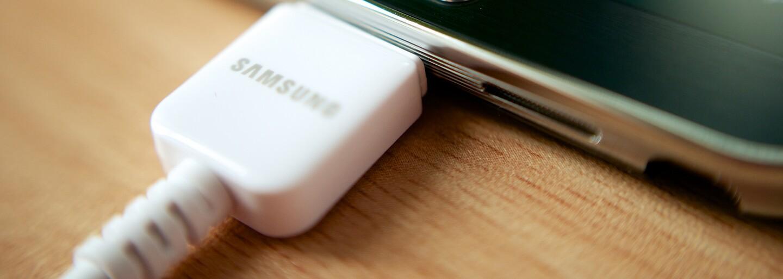 Smartphony nabijeme za chvilku. Samsung vyvinul baterii, kterou naplníme 5krát rychleji