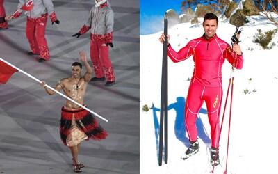 Sníh viděl poprvé před 2 lety a lyžovat se učil na YouTube. Sportovec z exotického ráje je největší senzací olympiády