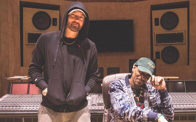 Snoop Dogg a Eminem sú spolu v štúdiu. Dočkáme sa kolaborácie?