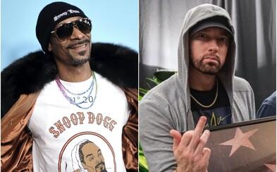 Snoop Dogg reaguje na Eminemov diss: Modlite sa, aby som mu neodpovedal