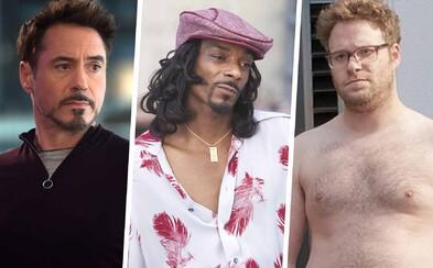 Snoop Dogg sa zhúlil so synom a Robert Downey Jr. zaspal v cudzom dome. Toto sú najznámejšie historky opitých celebrít