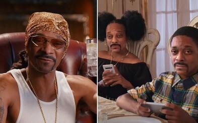 Snoop Dogg si vo vianočnej reklame zahral svoje deti a zachránil svet
