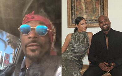 Snoop Dogg vysmial Kanyeho Westa. Nikoho ku*va nezaujíma, čo práve zažívaš, odkázal mu