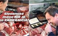 SNS je opäť na smiech. Strana propaguje slovenské mäso na fotke, ktorú kúpila za pár eur z fotobanky