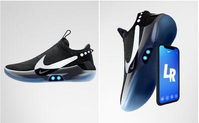 Tkaničky na revolučních teniskách od Nike zavážeš přes iPhone. Díky aplikaci změníš i barvu