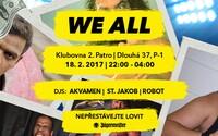Sobota se v Praze ponese v duchu jubilejní 10. We All party