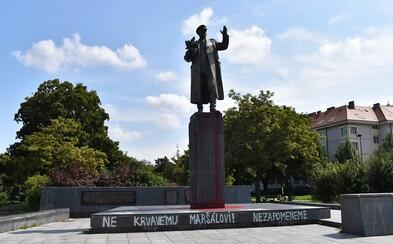 Socha sovětského maršála Koněva by mohla jít do Moskvy, navrhla jeho dcera