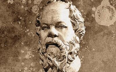 Sokrates: Odporca aténskej demokracie obvinený z bezbožnosti a kazenia mládeže