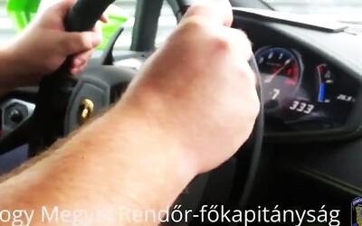 Šokující video ukazuje, jak v rychlosti 313 km/h došlo k nehodě českého Lamborghini!